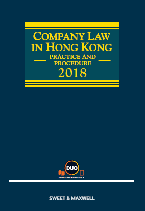 Company Law in Hong Kong: Practice and Procedure, 2018
