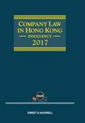Company Law in Hong Kong - Insolvency 2017