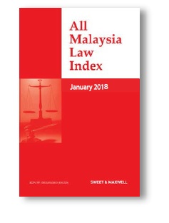 All Malaysia Law Index 2018 Subscription (AMLI)