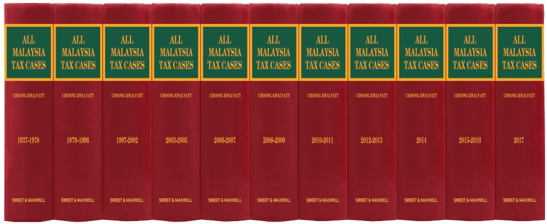 All Malaysia Tax Cases (AMTC) 1937 - 2017 (Full Set-11 Volumes)