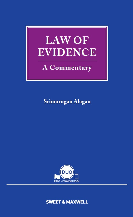 Law of Evidence: A Commentary (OUT NOW)
