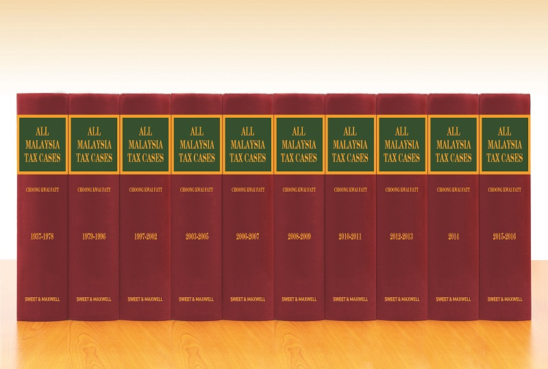 All Malaysia Tax Cases (AMTC) 1937 - 2016 (Full Set-10 Volumes)