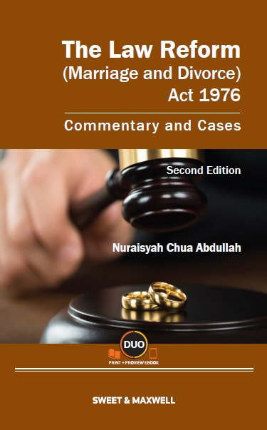 The Law Reform (Marriage and Divorce) Act 1976: Commentary and Cases, Second Edition